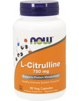 NOW FOODS L-Cytrulline 90 kaps.
