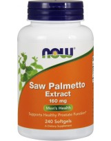 NOW FOODS Saw Palmetto Extract 160 mg 240 kaps.