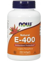 NOW FOODS Witamina E-400 250 kaps.