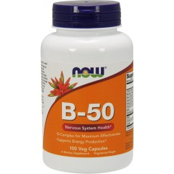 NOW FOODS B-50 100 vcaps