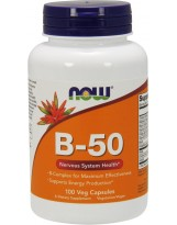 NOW FOODS B-50 100 vcaps.