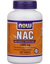 NOW FOODS NAC N-Acetylocysteina 1000 mg 120 tablets