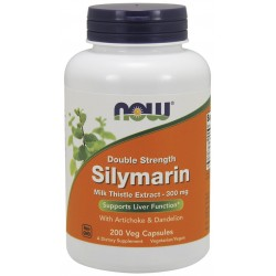 NOW FOODS Silymarin 300 mg 200 caps