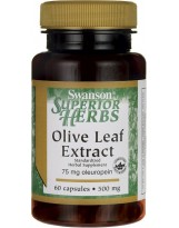 SWANSON Olive Leaf Extract 500 mg 60 kaps.