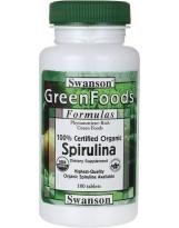 SWANSON Spirulina Certified 180 tabl.