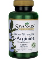 SWANSON Super Strength L-Arginine 850mg 90 kap.