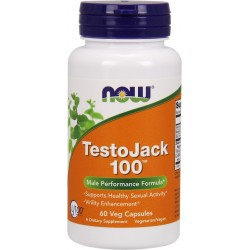 NOW FOODS TestoJack 100 60 vcaps.