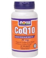 NOW Foods CoQ10 30 mg - 30 capsules