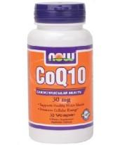 NOW Foods CoQ10 30 mg - 30 kaps.