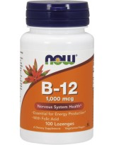 NOW FOODS B-12 1000 mcg 100 lozenges