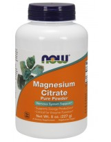 NOW FOODS Magnesium Citrate Powder 227 g