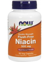 NOW FOODS Niacin 500 mg 90 vcaps.