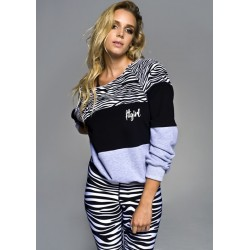 GYM HERO Bluza Zebra