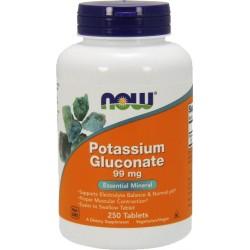 NF Potassium Gluconate 250 tabs.