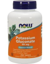 NOW FOODS Potassium Gluconate 250 tabs.