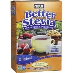 NOW FOODS Stevia Extract 100 saszetek