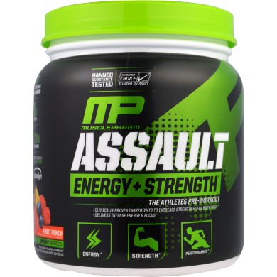 MUSCLE PHARM Assault Sport 345g