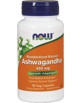 NOW FOODS Ashwagandha 450 mg 90 kaps.