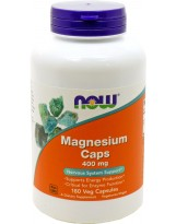 NOW FOODS Magnesium 400 mg 180 kaps.