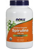 NOW FOODS Spirulina 500 mg 500 tabl.