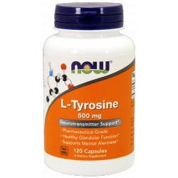 NOW FOODS L-Tyrozyna 500 mg 120 kaps.