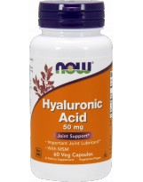 NOW FOODS Hyaluronic Acid MSM 50mg 60 vcaps.