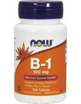 NOW FOODS B-1 Thiamine 100mg 100 tabl.