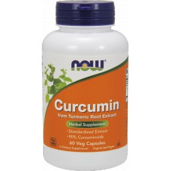 NOW FOODS Curcumin 60 vcaps.