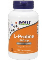 NOW FOODS L-Proline 500mg 120 vcaps.