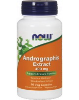 NOW FOODS Andrographis Extract 400mg 90 vcaps.