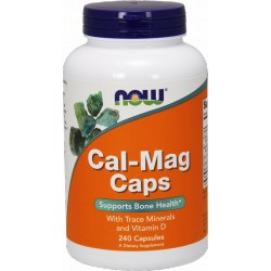 NOW FOODS Cal-Mag 240 kaps.
