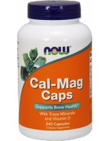 NOW FOODS Cal-Mag Caps 240 kaps.