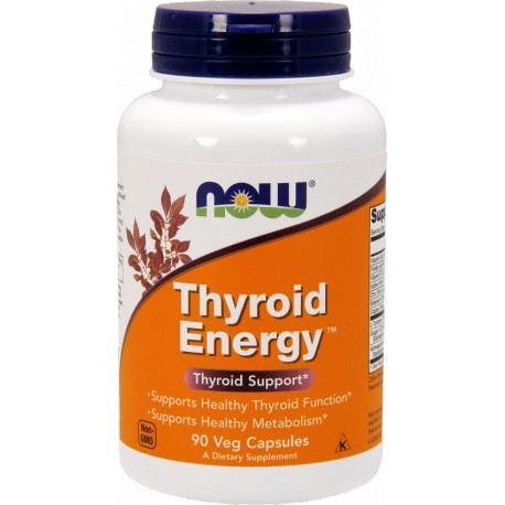NOW FOODS Thyroid Energy 90 vcaps.