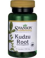 SWANSON Kudzu Root 500mg 60 kaps.