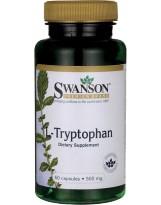 SWANSON L-Tryptofan 500mg 60 kaps.