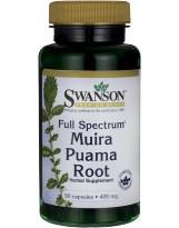 SWANSON Muira Puama Root 400mg 90 caps.