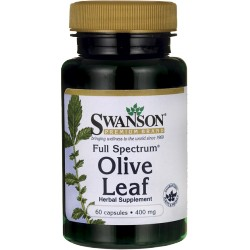 SWANSON Olive Leaf 400mg 60caps