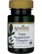 SWANSON Triple Magnesium Complex 30 kaps.