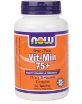 NOW Foods Vit-Min 75+ multiwitamina - 90 tabl.
