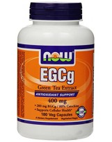 NOW FOODS EGCG Green Tea 400 mg 180 vcaps.