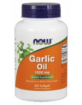 NOW FOODS Garlic Oil 1500mg 250 gels.