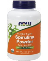 NOW FOODS Spirulina Organic Powder 113 g.