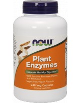 NOW FOODS Plant Enzymes - 240 vcaps.