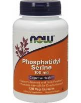 NOW FOODS Phosphatidyl Serine 100mg 120 vcaps.
