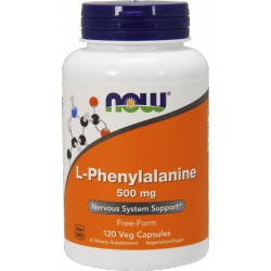 NOW FOODS L-Phenylalanine 500mg 120 kaps.