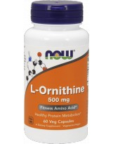 NOW FOODS L-Ornityna 500 mg 60 kaps.