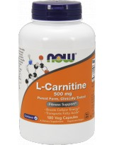 NOW FOODS L-Carnitine 500mg 180 kaps.