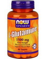 NOW FOODS Glutamina 1500mg 90 tabl.