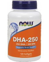 NOW FOODS DHA 250mg 120 kaps.