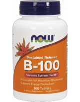 NOW FOODS B-100 Sustained Release 100 tabl.